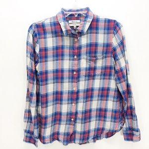 Madewell Shrunken Boyfriend Button Down Shirt